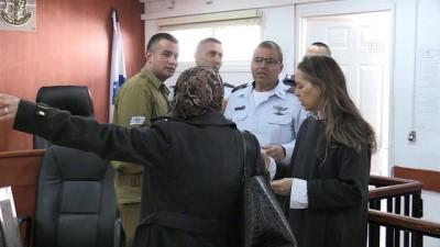 'Filistinli cesur kız' Ahed'in yargılanması - RAMALLAH