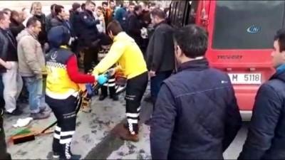 Giresun'da 50 metre arayla iki kaza: 2 yaralı