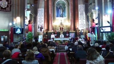 İspanya'da evcil hayvanlar kutsandı - MADRİD