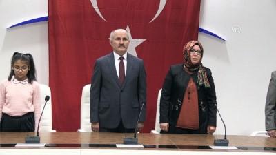 Karaman'da Devlet Övünç madalyası töreni