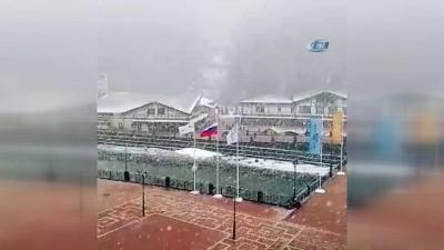 Moskova'da Kar Fırtınası Uyarısı