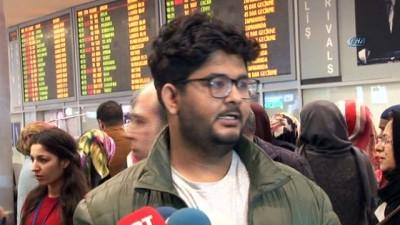 Myanmar'da gözaltına alınan TRT World ekibi Türkiye'ye geldi