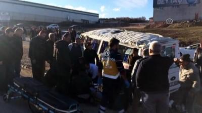 Servis aracı otomobille çarpıştı (2) - BURSA