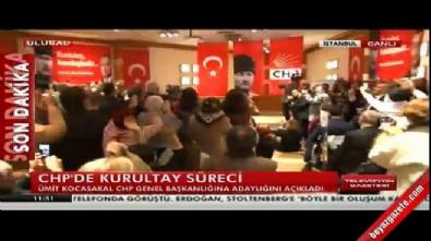 Ümit Kocasakal CHP Genel Başkanlığına adaylığını açıkladı