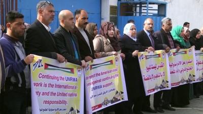 ABD'nin Filistin'e yardımını askıya alması - GAZZE