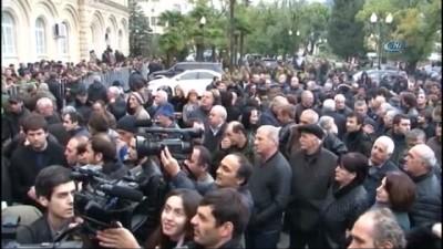 """Abhazya Cumhurbaşkanı Hacımba: """"Görevimin Başındayım"""""""