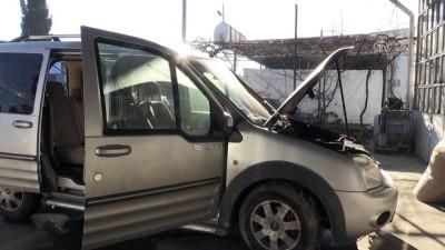 Araç kundaklaması güvenlik kamerasına yansıdı - EDİRNE