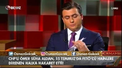 CHP'li Ömer Süha Aldan'ın hazırladığı iddianame