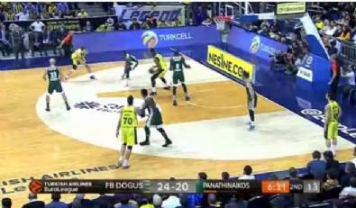 Fenerbahçe Doğuş Panathinaikos: 67-62 Basketbol Maç Özeti (17 Ocak 2018)