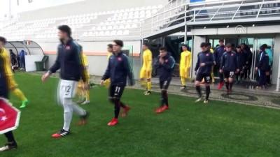 Hazırlık maçı - 17 Yaş Altı Milli Futbol Takımı, Romanya ile 0-0 berabere kaldı - ANTALYA