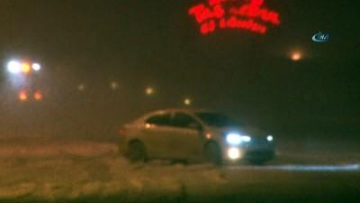 Kayseri'de kar yağışı etkili oldu... Erciyes Dağı'nda ekipler yolları açmak için seferber oldu