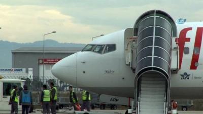 Ordu-Giresun Havalimanı'nda 'pistten çıkan uçak' yoğunluğu