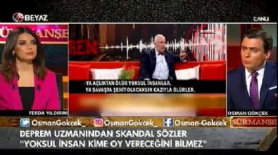 Osman Gökçek: Koskoca profesör olmuşsunuz...