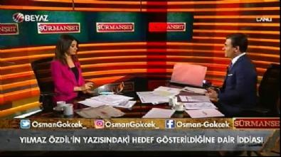 Osman Gökçek: Yılmaz Özdil mağdur edebiyatı yapıyor