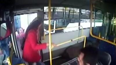 Otobüs şoförü rahatsızlanan yolcuyu hastaneye yetiştirdi - AYDIN