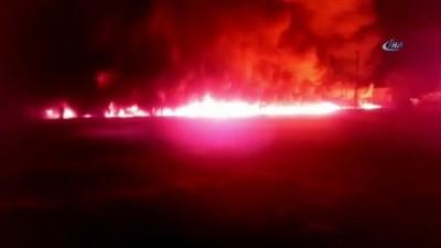 - Rusya'da Petrol Boru Hattında Yangın