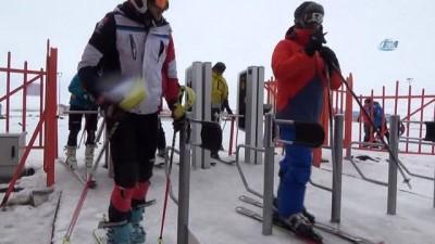 yurt disi -  Sarıkamış Cıbıltepe Kayak Merkezi'ne yoğun ilgi