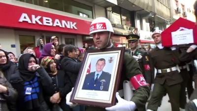 Şehit Hava Pilot Binbaşı Karamustafa son yolculuğuna uğurlandı (1) - ORDU