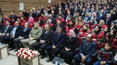 Siirt'te Devlet Övünç Madalyası töreni