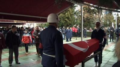 Uçak kazasında şehit olan Astsubay Ömer Kadir Arlı son yolculuğuna uğurlanıyor