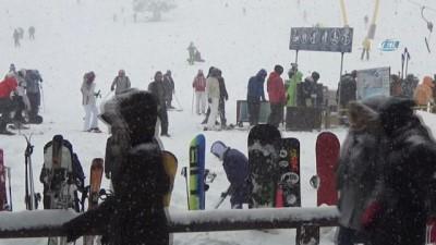 Uludağ'da kar kalınlığı 118 santimetreye ulaştı