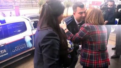 Zabıta aracı gelin arabası oldu - GAZİANTEP