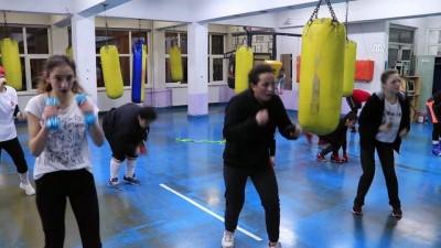 '2020 Olimpiyatları'na kadın boksörler damga vuracak' - ÇANKIRI