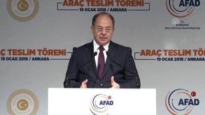 Başbakan Yardımcısı Akdağ - AFAD araç teslim töreni (2) - ANKARA