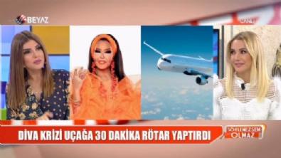 Bülent Ersoy uçakta olay mı çıkardı?