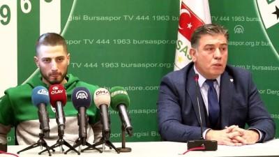 Bursaspor'da Grozav için imza töreni - BURSA