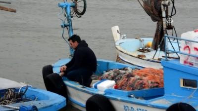 Gazipaşa ilçesinde seralar ve tekneler zarar gördü - ANTALYA