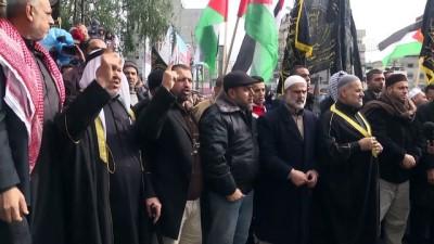 israil - Gazze'de Kudüs protestoları