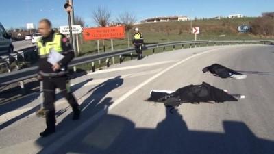 Genç çift kazada hayatlarını kaybetti