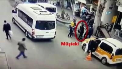 Hırsızlık şüphelileri kamerada