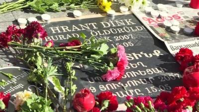 insan zinciri - Hrant Dink suikastının 11. yılı - İSTANBUL