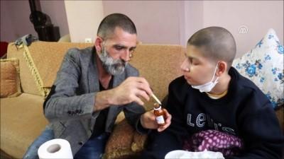 Kanseri yenen baba oğlu için şifa arıyor - AYDIN