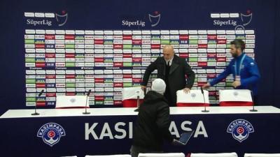 Kasımpaşa - Aytemiz Alanyaspor maçının ardından - Hikmet Karaman - İSTANBUL