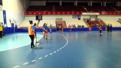 Kastamonu Belediyespor'da Byasen Handball Elite maçı hazırlıkları sürüyor - KASTAMONU