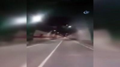 Ovit Tüneli'nden geçen vatandaş Cumhurbaşkan'ı ve Başbakan'a böyle teşekkür etti