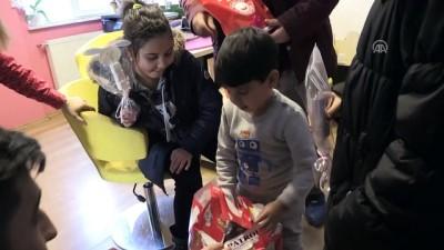 Şehit Arlı'nın çocukları karnelerini aldı - ESKİŞEHİR
