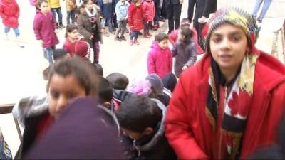 Sınırın çocukları karne aldı Haberi