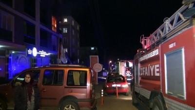 Tekirdağ'da ev yangını Video