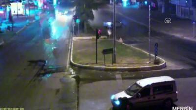 Trafik kazaları MOBESE kameralarına yansıdı - DENİZLİ