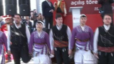 Ümraniye Nevzat Ayaz Anadolu Lisesi'nin yeni hizmet binası törenle açıldı