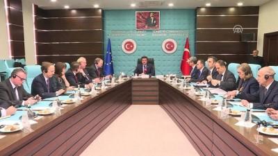 Zeybekci AB ülkelerinin büyükelçileriyle bir araya geldi (1) - ANKARA