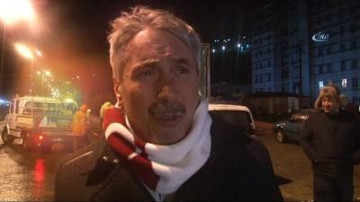 Zonguldak'ta dalgalar yıkıp geçti Video