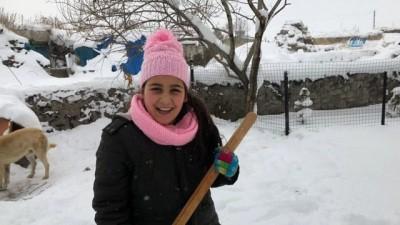 2018'in ilk kar tatili Ardahan'dan