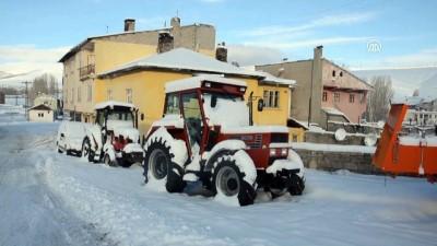 kar manzaralari - Doğu Anadolu'da kış - KARS