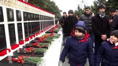 Azerbaycan'da 'Kanlı Ocak' kurbanları anılıyor - BAKÜ