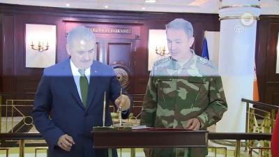 Başbakan Yıldırım, Genelkurmay Karargahı'nda - ANKARA
